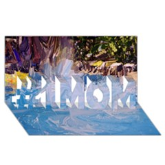 Splash 4 #1 Mom 3d Greeting Cards (8x4)