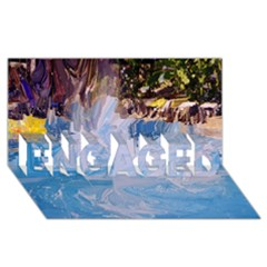 Splash 4 Engaged 3d Greeting Card (8x4)  by icarusismartdesigns