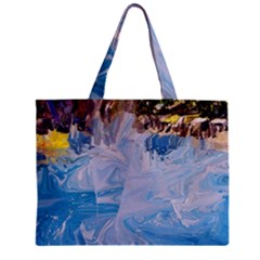 Splash 4 Tiny Tote Bags by icarusismartdesigns