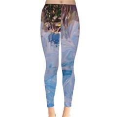 Splash 4 Winter Leggings by icarusismartdesigns