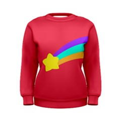 Shooting Star Women s Sweatshirts by ULTRACRYSTAL