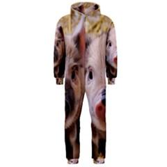 Sweet Piglet Hooded Jumpsuit (men)