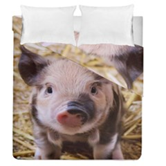 Sweet Piglet Duvet Cover (full/queen Size) by ImpressiveMoments