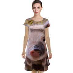 Sweet Piglet Cap Sleeve Nightdresses