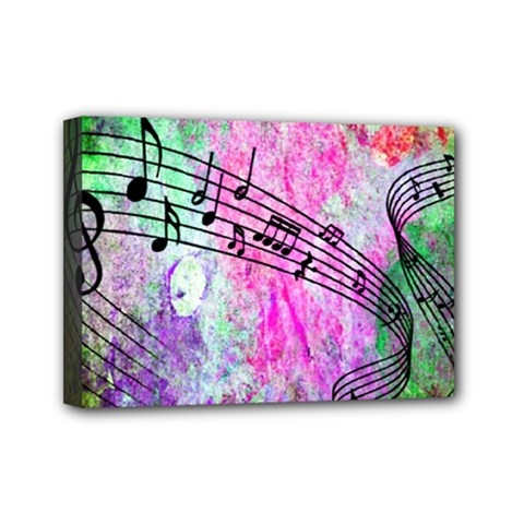 Abstract Music  Mini Canvas 7  X 5