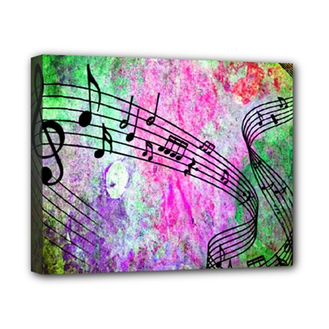Abstract Music  Canvas 10  X 8