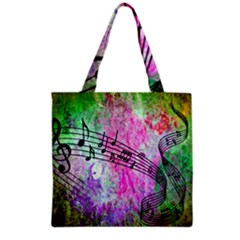 Abstract Music  Grocery Tote Bags