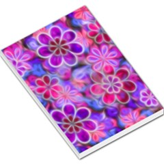Pretty Floral Painting Large Memo Pads