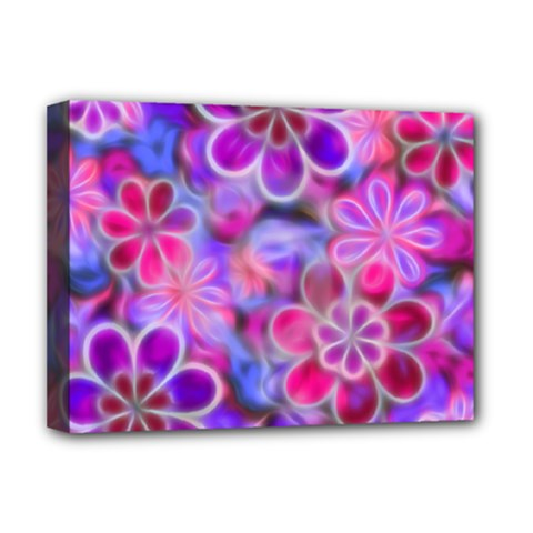 Pretty Floral Painting Deluxe Canvas 16  X 12   by KirstenStar