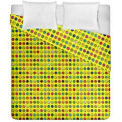 Multi Col Pills Pattern Duvet Cover (double Size) by ScienceGeek