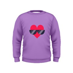Sunglasses Heart Boys  Sweatshirts by ULTRACRYSTAL