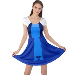 Ice Mom Cap Sleeve Dresses by ULTRACRYSTAL