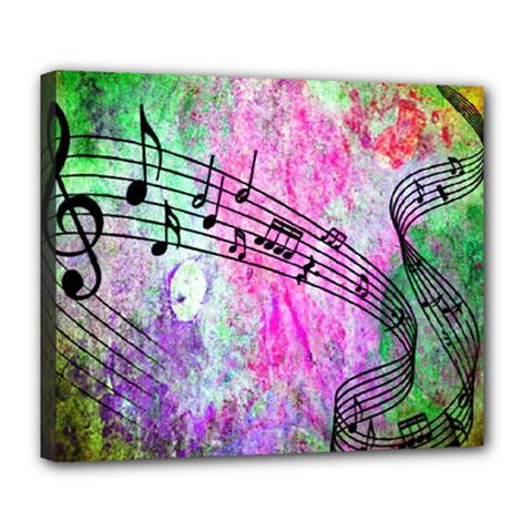 Abstract Music 2 Deluxe Canvas 24  X 20