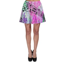 Abstract Music 2 Skater Skirts