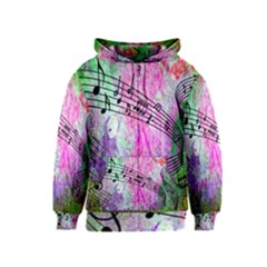 Abstract Music 2 Kids Zipper Hoodies