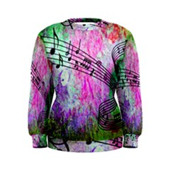 Abstract Music 2 Women s Sweatshirts