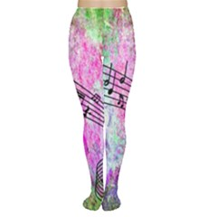 Abstract Music 2 Women s Tights by ImpressiveMoments