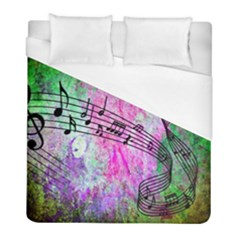 Abstract Music 2 Duvet Cover Single Side (twin Size)