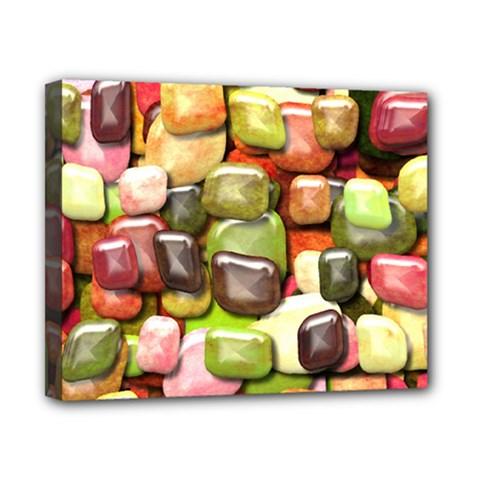 Stones 001 Canvas 10  X 8