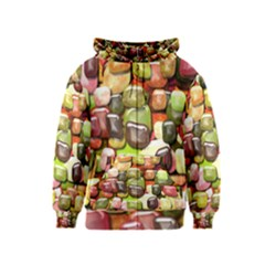 Stones 001 Kids Zipper Hoodies