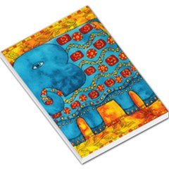 Patterned Elephant Large Memo Pads by julienicholls