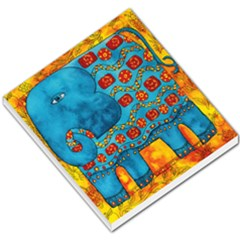 Patterned Elephant Small Memo Pads by julienicholls