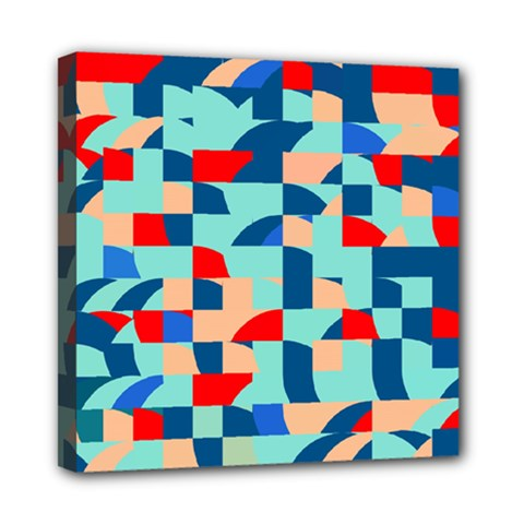 Miscellaneous Shapes Mini Canvas 8  X 8  (stretched) by LalyLauraFLM