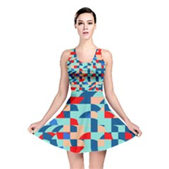 Miscellaneous Shapes Reversible Skater Dress by LalyLauraFLM
