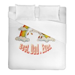 Best  Dad  Ever  Duvet Cover Single Side (twin Size) by redcow