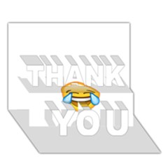 Cryingwithlaughter Thank You 3d Greeting Card (7x5)