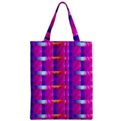 Pink Cell Mate Zipper Classic Tote Bags