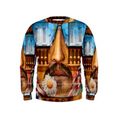 Graffiti Sunglass Art Boys  Sweatshirts