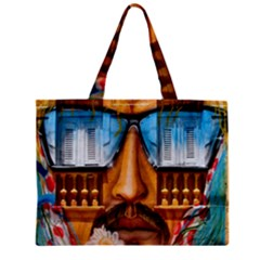 Graffiti Sunglass Art Zipper Tiny Tote Bags by TheWowFactor