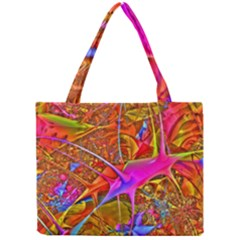 Biology 101 Abstract Tiny Tote Bags by TheWowFactor