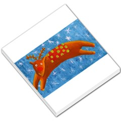 Rudolph The Reindeer Small Memo Pads by julienicholls