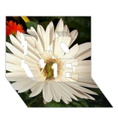 Daisyc LOVE 3D Greeting Card (7x5)  by infloence