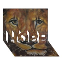Cecil The African Lion Hope 3d Greeting Card (7x5)  by timelessartoncanvas
