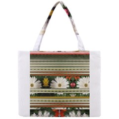 Pattern Flower  Tiny Tote Bags