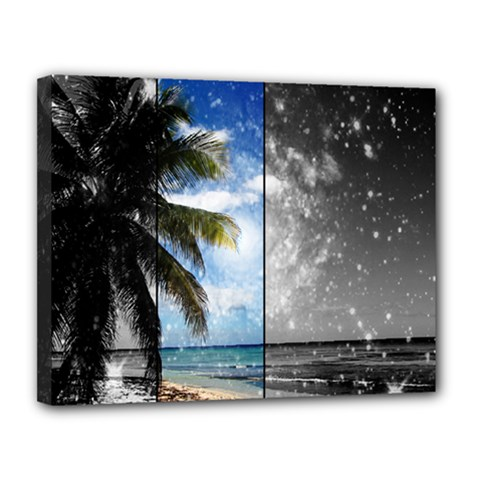 Caribbean Dreaming Canvas 14  X 11  by stineshop