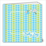Introducing Baby Boy Book - 8x8 Photo Book (20 pages)