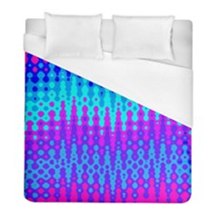 Melting Blues And Pinks Duvet Cover Single Side (twin Size) by KirstenStar