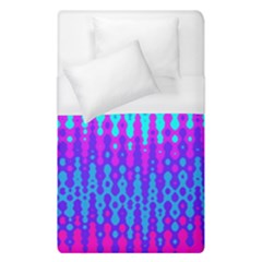 Melting Blues And Pinks Duvet Cover Single Side (single Size) by KirstenStar