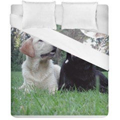 2 Labs Duvet Cover (Double Size) by TailWags