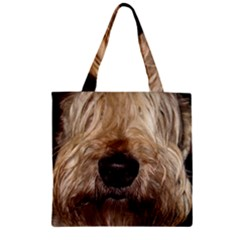 Wheaten Zipper Grocery Tote Bags by TailWags