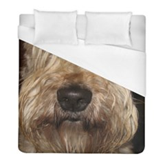 Wheaten Duvet Cover Single Side (Twin Size) by TailWags