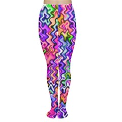 Swirly Twirly Colors Women s Tights by KirstenStar