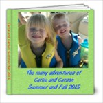 Carlie and Carson 2015 - 8x8 Photo Book (20 pages)
