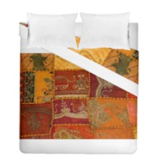 India Print Realism Fabric Art Duvet Cover (twin Size) by TheWowFactor