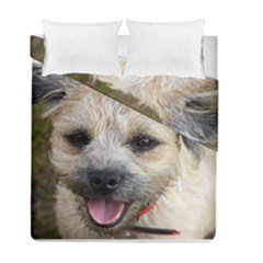Border Terrier Duvet Cover (Twin Size) by TailWags