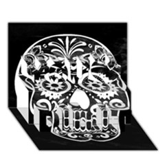 Skull You Did It 3d Greeting Card (7x5) by ImpressiveMoments